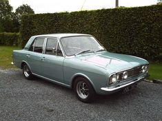 Ford Cortina I had more money than sense, I would have so many classic… Ford Motor Company, Retro Cars, Vintage Cars, British Sports Cars, Ford Classic Cars, Classic Motors, Old Fords, Ford Escort, Commercial Vehicle