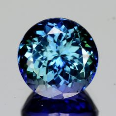 2.90 Cts Tanzanite Faceted Gemstone Awesome Color Crystals Minerals, Rocks And Minerals, Crystals And Gemstones, Stones And Crystals, Gem Stones, Gold Rings Jewelry, Gemstone Jewelry, Dainty Jewelry, Opal Rings