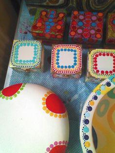 Bowl and mini boxes