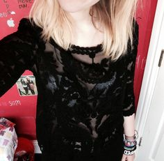 Love love LOVE my new shirt that my mam bought me today