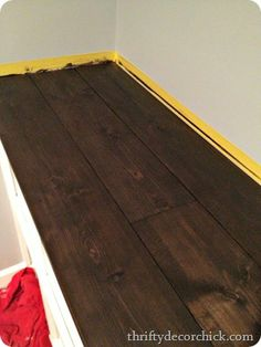 Diy How To Make Plywood Subfloor Look Like Wide Plank