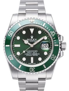 Rolex submariner series 116610-LV-97200 green mechanical men watch! If you want to buy or visit more,plase call me! http://www.hermesbagsshop.com