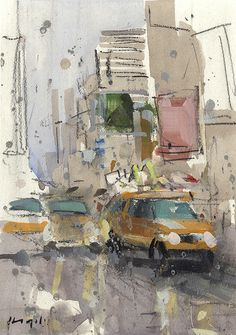 David Lloyd - Artblog5x7 Pencil and Acrylic on Panel