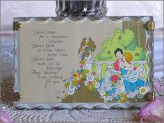 Sweetest Vintage 1930s COTTAGE POETRY PLAQUE