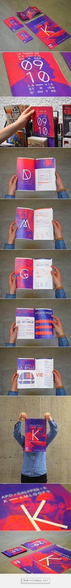 Théâtre de la Bordée on Behance - created via http://pinthemall.net