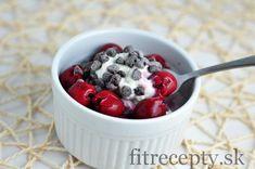 Ricotta s čerešňami a proteínom - FitRecepty
