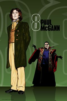 Doctor Who - Paul McGann & the Master