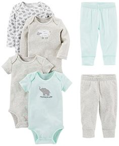 1d29768306 Simple Joys by Carter s Baby 6-Piece Little Character Set