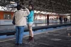 En Metro, ¡sin pantalones! en la Ciudad de México