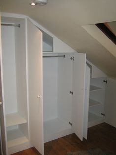 Closets With Slanted Ceilings On Pinterest