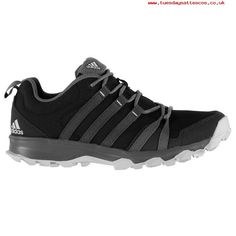 Ideal Women Black adidas TraceRocker Ladies Trail Running Shoes 216017