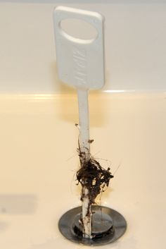 """Use """"Zip-It"""" - The Cheapest Way to Clean a Drain without Using Noxious Chemicals 
