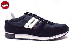 Tommy Hilfiger , Herren Sneaker, blau - marineblau - Größe: 43 EU (*Partner-Link)
