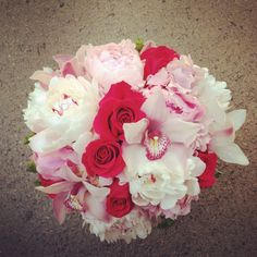 June 16 wedding bouquet