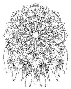 Mandala coloring page by Elinorka #mandala #mandalas #coloringpage
