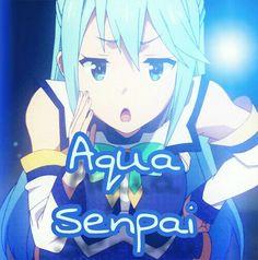 Aqua Minha Senpai *-*