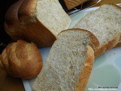 Mis recetas favoritas: Pan de molde 50% integral