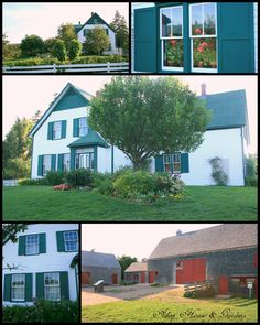 Aiken House & Gardens: Touring Anne of Green Gables Land -- The Anne of Green Gables House on Prince Edward Island Vacation Places, Dream Vacations, Vacation Spots, Anne Of Windy Poplars, Places Ive Been, Places To Visit, Gable House, East Coast Road Trip, Anne With An E
