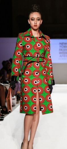 Africa Fashion Week - New York 2015 - Dahil Republic of Couture - Frolicious