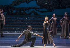 Zorba, el griego. Ballet de Santiago. Manolios: Agustín Cañulef y Marina: Montserrat López. Foto: Patricio Melo