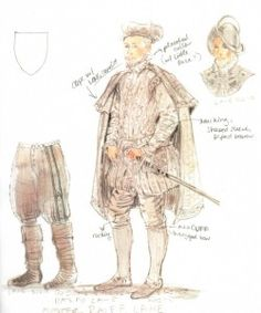 The Lost Colony (Ralfe Lane). Costume design by William Ivey Long. 2013