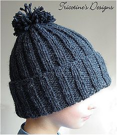 Ravelry: Snow Hat for Kid by Tricotine patterns free hats kids boys Sn. Ravelry: Snow Hat for Kid by Tricotine patterns free hats kids boys Snow Hat for Kid patt Easy Knit Hat, Knitted Hats Kids, Knitting For Kids, Kids Hats, Knitting For Beginners, Crochet Hats, Knitting Projects, Crochet Beanie, Chrochet