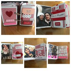 DIY Valentine's Day Gift For Him: 52 Reasons Why I Love You!!!