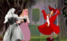 <b>Disney would often film entire scenes - in a process called live-action reference - to help animators create realistic movements and scale.</b>
