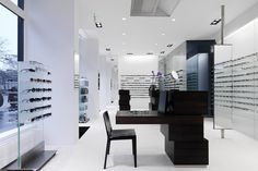 Burrioptik by nimmrichter architects, Zurich   Switzerland eyewear store design