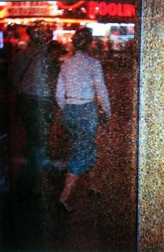 Saul Leiter, Times Square Mosaic, 1950
