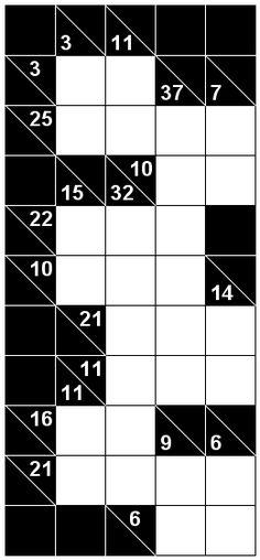 Number Logic Puzzles: 22912 - Kakuro size 2