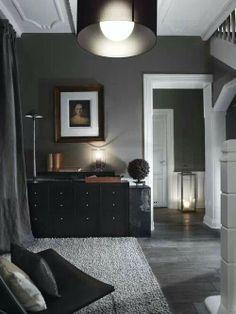 Love the contrast between textures, dark & light and materials...