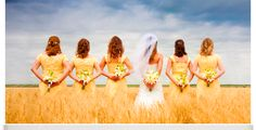 Wheat Field Wedding