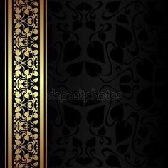 depositphotos_33814723-stock-illustration-charcoal-ornamental-background-with-golden.jpg (450×450)