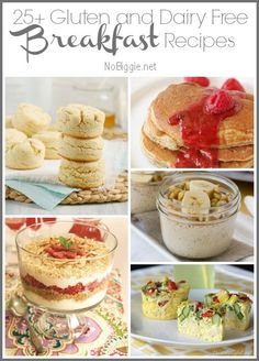 25+ Gluten and Dairy Free Breakfast Recipes