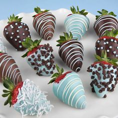 Hand-Dipped It's A Boy Berries
