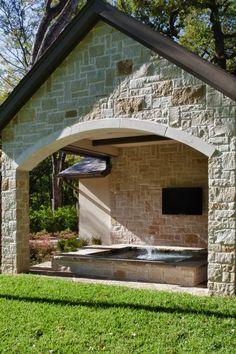 Covered Hot Tub...I wish!