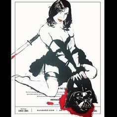 """Vader Slayer @nuvango #nuvangocover #hifructosemag #hifructose"""