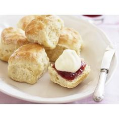 Gluten-free scones recipe - By Australian Women's Weekly, When it comes to gluten-free baking, sometimes gluten-free flour is not enough on its own. This gluten-free scones recipe lets you get the right texture and taste without adding gluten.