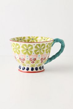 With A Twist Teacup - anthropologie.com Great for tea or coffee! Cute gift!