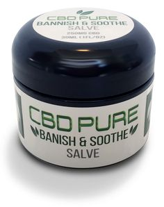 CBD Pure Hemp Extract Infused Salve | Banish & Soothe | CBD Salve | 250 Mg | Hemp CBD
