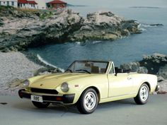 Not mine - Fiat Spider 124 Fiat 124 Sport Spider, Fiat 124 Spider, Alfa Cars, Fiat Cars, Fiat 500 Pop, Automobile, Counting Cars, Convertible, Fiat Abarth