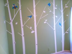 My sisters baby room Baby Boy Rooms, Baby Room, Kids Rooms, Nursery Inspiration, Tree Wall, Having A Baby, Future Baby, Wall Ideas, Room Ideas
