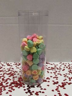 Valentine's Day Contest!  A game to guess how many hearts are in the cup