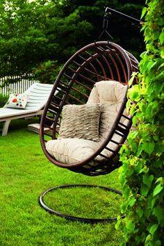 кресло качалка ротанг фото