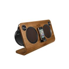 "House of Marley's FSC certified ""Get Up, Stand Up"" audio system. Jammin'!"