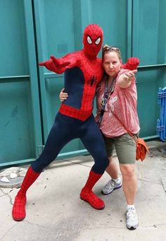 spiderman meet and greet