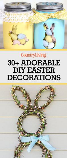 32 DIY Easter Decorations - Homemade Easter Decorating Ideas