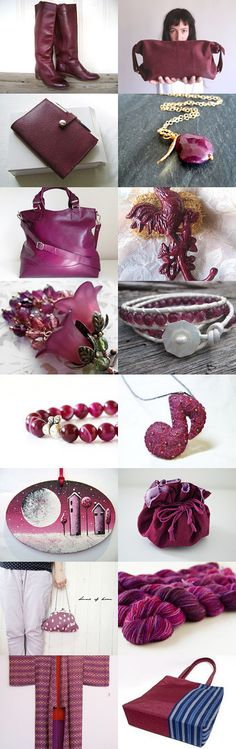 Purple Red by Mieko on Etsy--Pinned with TreasuryPin.com