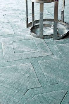 Carpet Warner aqua 3x4m - Flamant by Laura